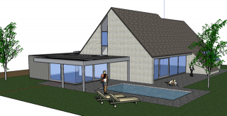 architect boonen - uitbreiding praktijkruimte