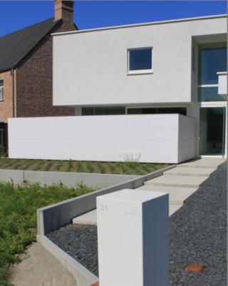 Geel architect boonen - eigentijdse woning