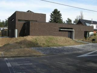 moderne hoekwoning, hedendaagse architectuur