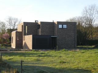 moderne expressieve architectuur te Westerlo