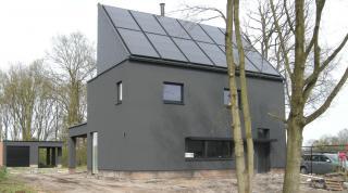 architect Boonen - moderne 3-gevelwoning Geel