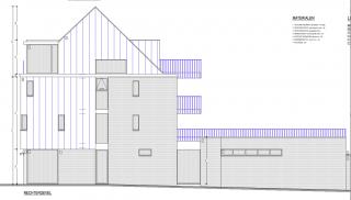 modern hoekgebouw te Arendonk
