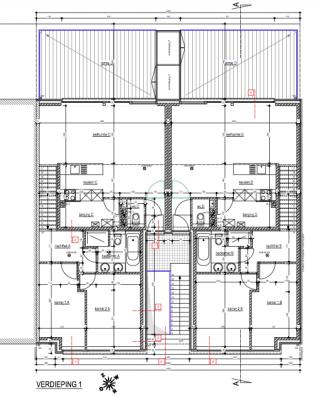 4 duplexwoningen met eigen moderne stijl