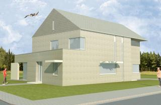 architect Boonen - moderne woning - Geel