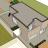 woonruimte tussen mooie dakterrassen